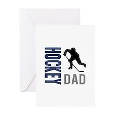 Hockey Dad Greeting Cards