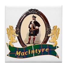 MacIntyre Clan Tile Coaster