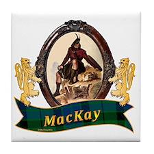 MacKay Clan Tile Coaster