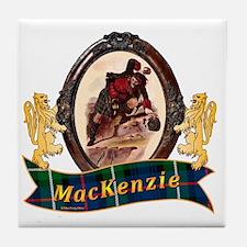 MacKenzie Clan Tile Coaster