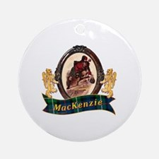 MacKenzie Clan Round Ornament