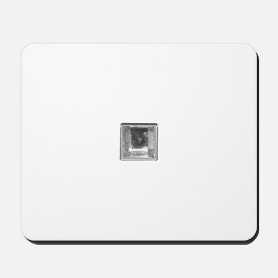Clear Square Crystal Gen Stone Mousepad