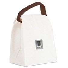 Clear Square Crystal Gen Stone Canvas Lunch Bag