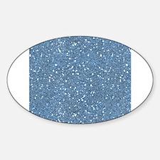 Blue Sparkle Glitter Shiny Pattern Decal