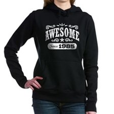 Awesome Since 1985 Women's Hooded Sweatshirt