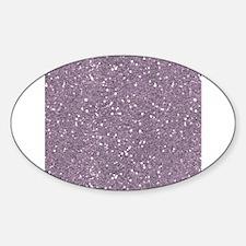 Purple Sparkle Glitter Shiny Pattern Decal