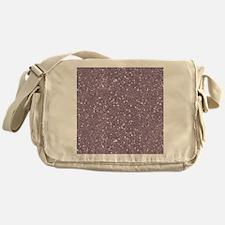 Purple Sparkle Glitter Shiny Pattern Messenger Bag