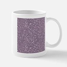 Purple Sparkle Glitter Shiny Pattern Mugs