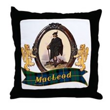 MacLeod Clan Throw Pillow