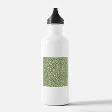 Lime Green Sparkle Glitter Shiny Pattern Water Bot