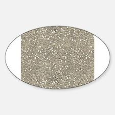 Silver Sparkle Glitter Shiny Pattern Decal