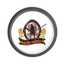 MacNaughton Clan Wall Clock