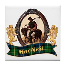 MacNeil Clan Tile Coaster