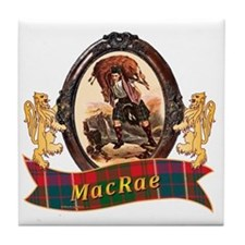 MacRae Clan Tile Coaster