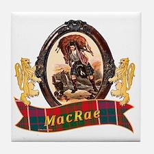 MacRae Clan Tile Coaster