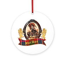 MacRae Clan Round Ornament