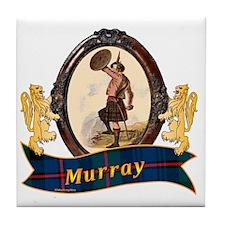 Murray Clan Tile Coaster