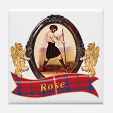 Rose Clan Tile Coaster