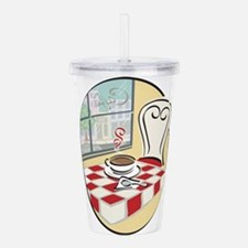 Unique If this is decaf Acrylic Double-wall Tumbler