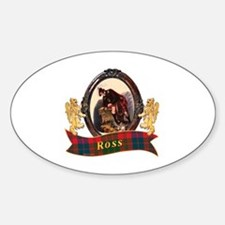 Ross Clan Sticker (Oval)
