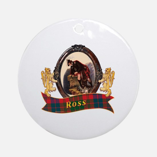Ross Clan Round Ornament