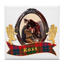 Ross Clan Tile Coaster