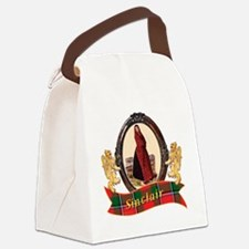 Sinclair Clan Canvas Lunch Bag