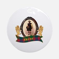 Skene Clan Round Ornament