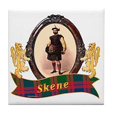 Skene Clan Tile Coaster
