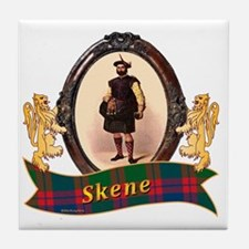 Skene Clan Tile Coaster