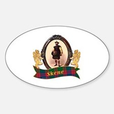 Skene Clan Sticker (Oval)