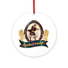 Sutherland Clan Round Ornament
