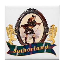 Sutherland Clan Tile Coaster