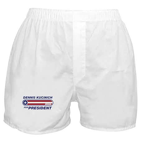 Dennis Kucinich for President Boxer Shorts