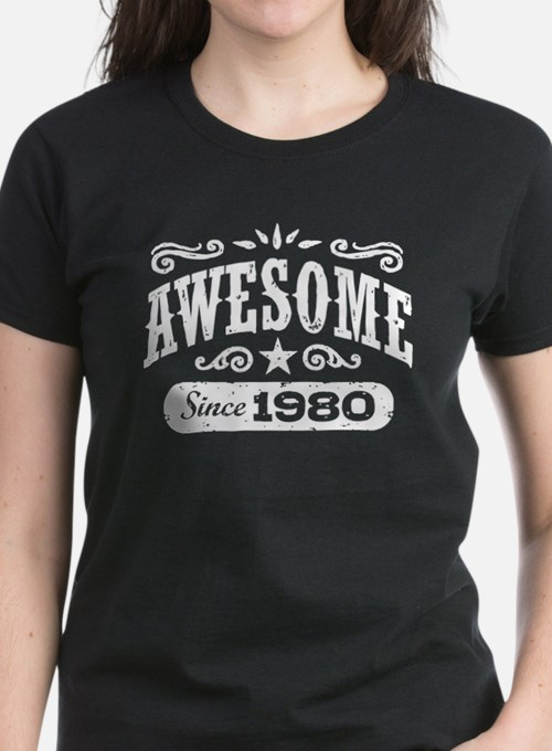 Awesome Since 1980 Tee