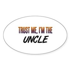 Trust ME, I'm the UNCLE Oval Decal