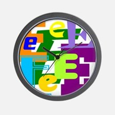 Initial Design (E) Wall Clock
