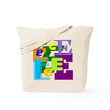 Initial Design (E) Tote Bag