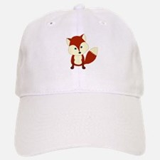 Cute Woodland Red Fox Baseball Baseball Baseball Cap