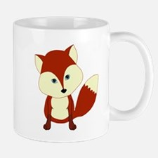 Cute Woodland Red Fox Mugs