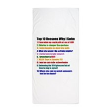 Top 10 Reasons Why I Swim Beach Towel