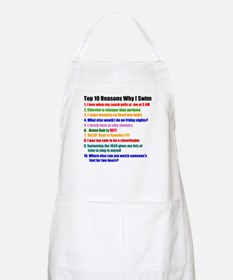 Top 10 Reasons Why I Swim Apron