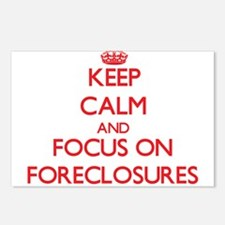 Cute Foreclosures Postcards (Package of 8)