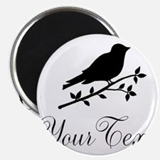 Personalizable Bird Silhouette Magnets