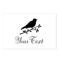 Personalizable Bird Silhouette Postcards (Package
