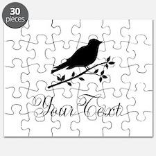 Personalizable Bird Silhouette Puzzle