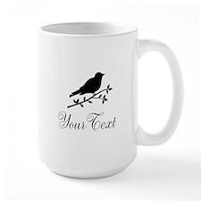Personalizable Bird Silhouette Mugs