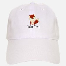 Personalizable Red Fox Baseball Baseball Baseball Cap