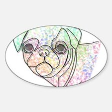 Wire Pug Decal