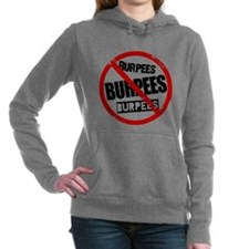 No Burpees Women's Hooded Sweatshirt